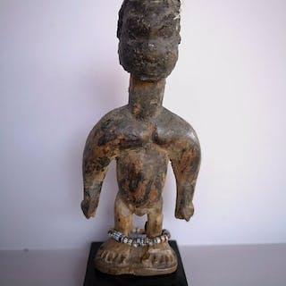 Bambola (1) - Legno - Venavi - Ewe - Ghana