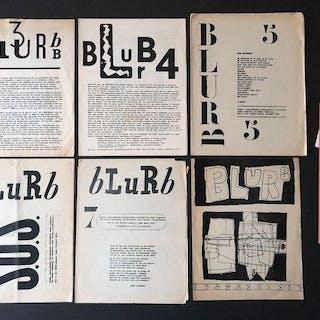 Simon Vinkenoog (redactie) - Blurb 3 t/m 8 - 1950/1951