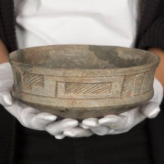 vasija sonajero precolombina.Azteca-Mexico .SXIII-XIV D.C...