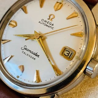 Omega - rare - automatic seamaster calendar - 2849 6 SC - Herren - 1950-1959