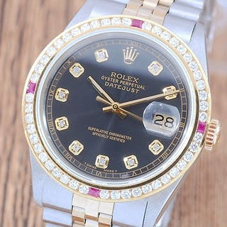 Rolex - Oyster Perpetual Datejust- 1601 - Men - 1980-1989