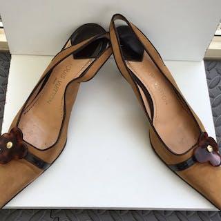 Louis Vuitton Sling Back Shoe - Size: IT 39