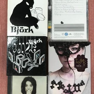 Björk - Diverse Titel - CD Boxset, CD's, DVD, DVD Limitiertes Boxset - 1993/2010