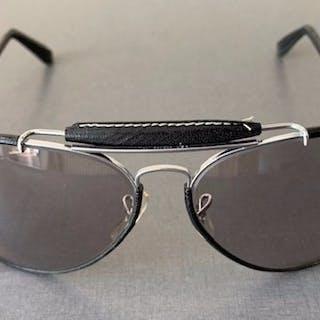 Ray-Ban - Leathers Outdoorsman Sunglasses