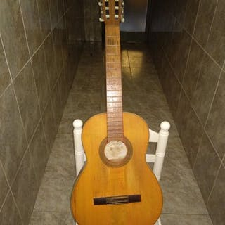 Roca - Luthier - Flamenco Gitarre, Klassische Gitarre - Spanien - 1960