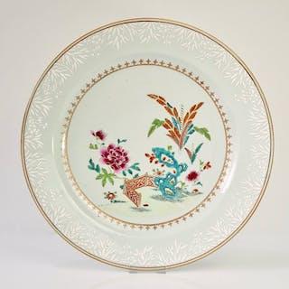 Charger 37.5 cm. - Porcelain - China - Qianlong (1736-1795)