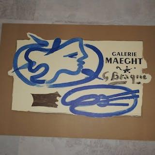 Georges Braque - Galerie Maeght, G. Braque- 1950