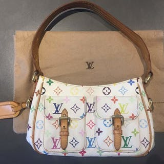 Louis Vuitton -Multicolor Lodge White Handbag