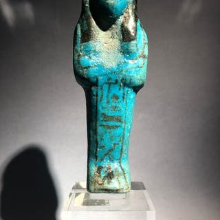 Ancient Egyptian Earthenware Bel Oushebti of the Mistress of House TAY