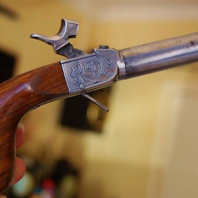 Belgique - Fabrique d'armes unies de Liège - pistolet de...