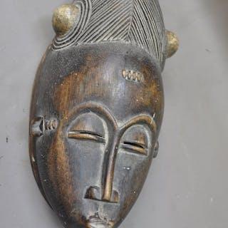 Mask - Wood - Baoulé - Côte d'Ivoire
