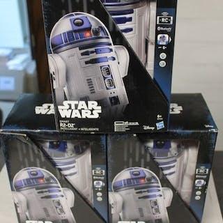 Star Wars - hasbro- 3x new in box - Remote Control R2 D2...