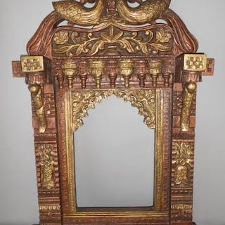 jharokha (1) - Holz - hardhouten carved tajasthani...