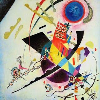 "Wassily Kandinsky (after) - ""Blue Circle"""