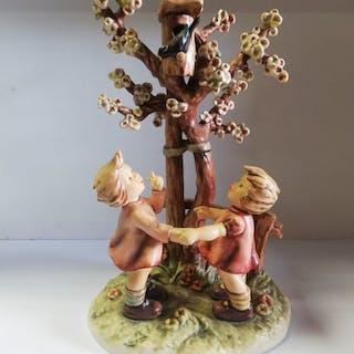 Collezione Hummel 635 secolo benvenuto molle - Ceramica