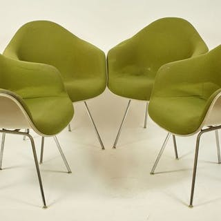 Charles Eames, Ray Eames - Herman Miller - DAX Sessel