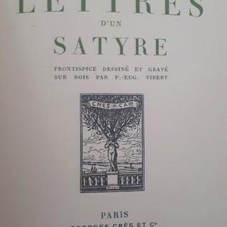 Rémy de Gourmont - Lettre d'un satyre - 1913