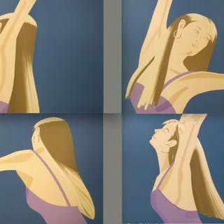 Alex Katz - Night: William Dunas Dance 1-4, 1983
