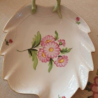 Herend - Piatto di foglie - Porcellana