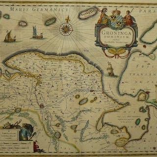 Paesi Bassi, Groningen; Willem en Joan Blaeu - Groninga Dominium - 1621-1650