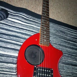 travel/practice electric guitar - travel/practice guitar...