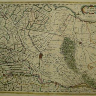 Paesi Bassi, Utrecht; W. en J. Blaeu - Ultraiectum Dominium - 1641