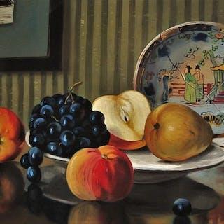 "Henriëtte Hubregtse-Lanzing (1879-1959) - ""Stilleven met..."