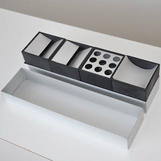 Bruno Munari - Danese - Schreibtisch-Set (4) - Canarie