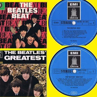THE BEATLES - 1. Beat (1964) 2. Greatest (1965) - viele 2 LPs - 1964/1965