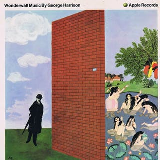 GEORGE HARRISON - Wonderwall Music - LP Album - 1968/1968