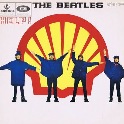 THE BEATLES - Help! (Limited Edition 'SHELL' LP)...