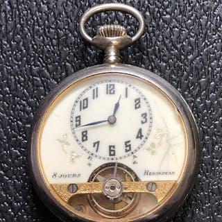 Hebdomas - 8 Jours pocket watch - Unisex - 1901-1949