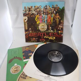 Beatles - Sgt. Pepper's Lonely Hearts Club Band - LP Album - 1967/1987