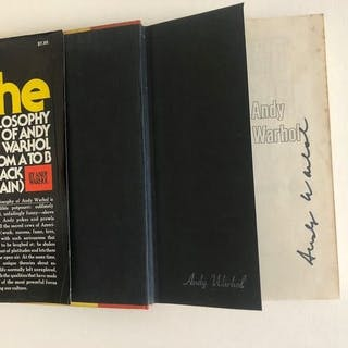 Andy Warhol - The philosophy of Andy Warhol (from A to B & back again) - 1975