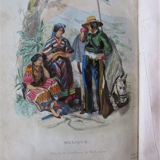 M. Jacques Arago - Voyage Autour du Monde - Chasses Drame - 1840