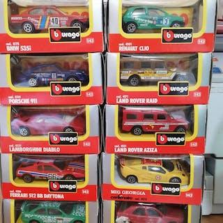 Burago Made in Italy - 1:43 - Lotto 20 Burago Made in Italy New in BOX