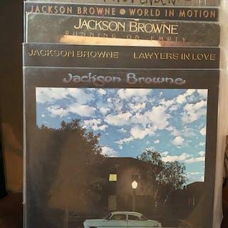 Jackson Browne - 5 Lp Albums - Diverse Titel - LP's - 1975/1989
