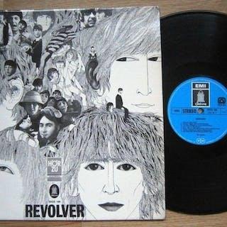 Beatles - The Beatles: Revolver SHZE 186 GER 1969 Blue Label Misprint VG++/Exc
