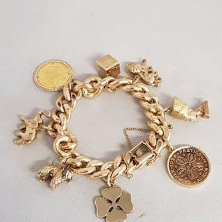 18 kt Gelbgold - Armband