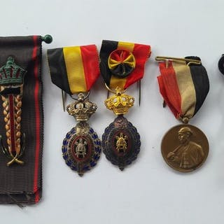 Belgien - Ehrenarbeit - Medallie