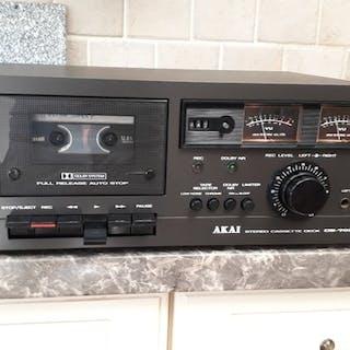 Akai - Black Edition Akai CS-702DII- Kassettendeck