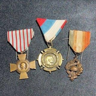 Frankreich - Viele schöne Medaillen des Krieges 14 18...