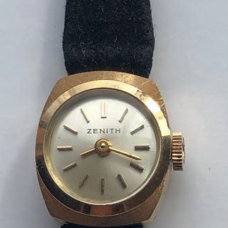 Zenith - 18k gold ladies- Women - 1960-1969