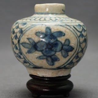 Vaso - Porcellana - Blossoms - Cina - Dinastia Ming (1368-1644)