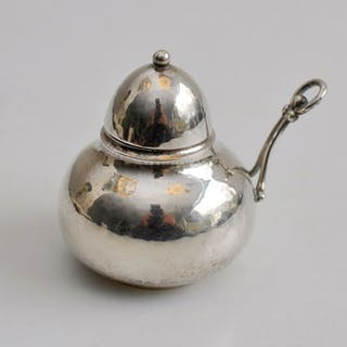 Oil lamp - .830 silver - Georg Jensen - Denmark - First half 20th century