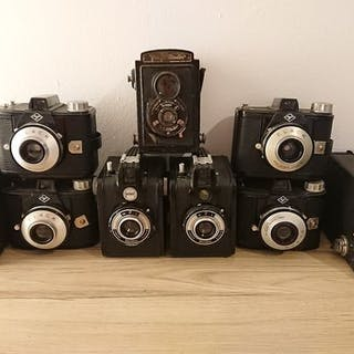 Agfa, Kodak, Voigtländer, Gevaert, Nefox - Box Camera Collection