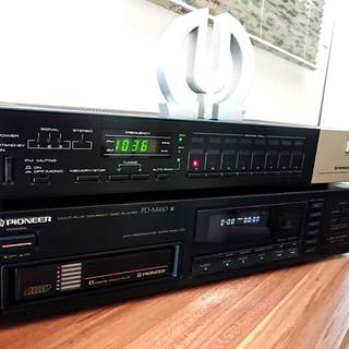 Pioneer - PD-M410 + TX930 Made in Japan - Diverse modellen - CD-Player, Radio