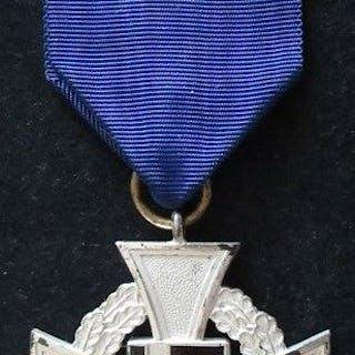 Deutschland - Treuedienst-Ehrenzeichen 1.Stufe für 40 Jahre 1938 - Auszeichnung