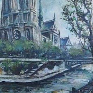 Rafael Daroca - Notre Dame et quai de Seine