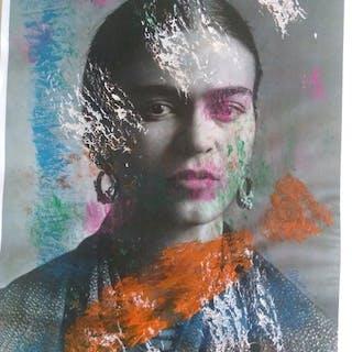 Antonio Maragnani - Lotto 2 opere- Omaggio a Frida Kahlo e Freddie Mercury